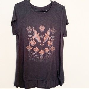 Abercrombie & Fitch Soft & Sexy Graphic Bird Tee